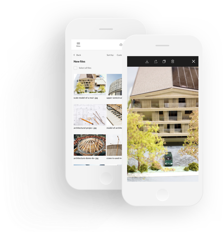 Digital Asset Management DAM for Architects